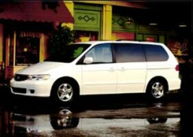 2000er Odyssey - US-Version - Honda USA