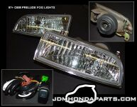 Ein JDM fog light kit im Detail